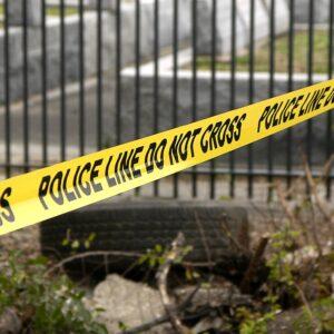 police line, yellow, crime